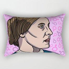 Susan B. Anthony Rectangular Pillow