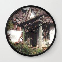 Decrepit Wall Clock