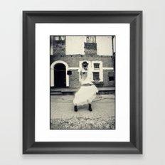 Hola! Framed Art Print