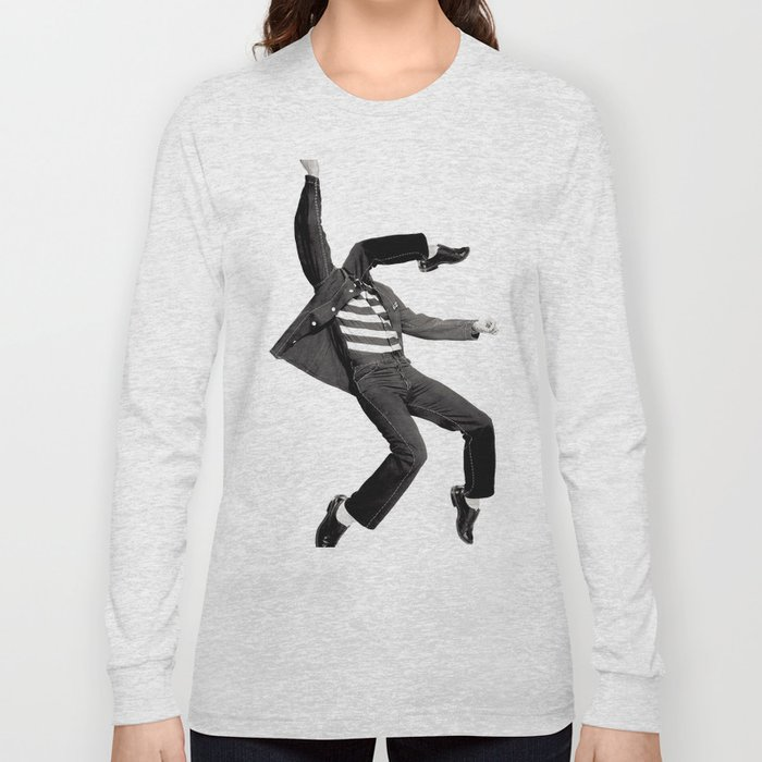 Rock N Roll Long Sleeve T Shirt By Sustici Society6