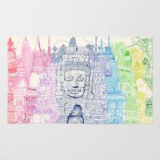 Angkor Wat & Thailand Rug