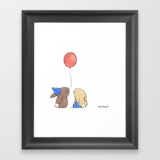 Birthdays Framed Art Print