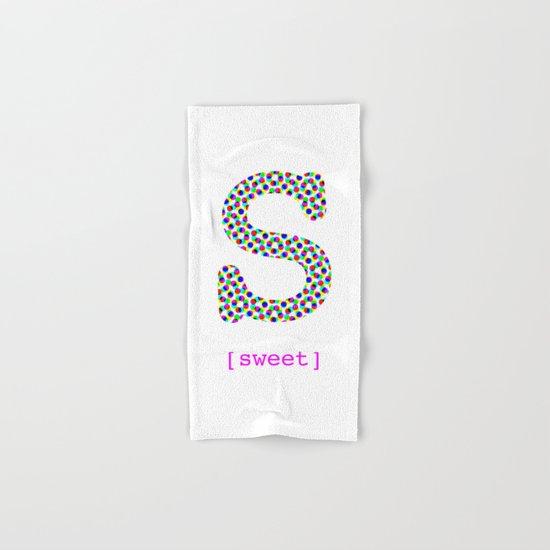 #S [sweet] Hand & Bath Towel