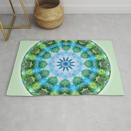 Mandalas from the Heart of Transformation 6 Rug