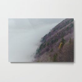 The Purple Hillside Metal Print
