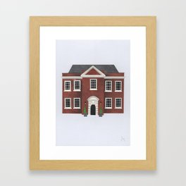 Assembly House (Norwich) Framed Art Print