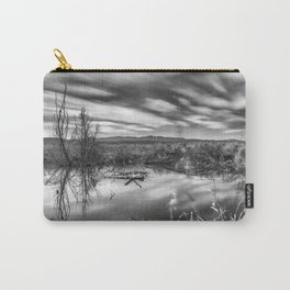"""""""Mammoth Paradise II"""" Bw Carry-All Pouch"""