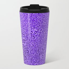 Water Condensation 05 Violet Travel Mug