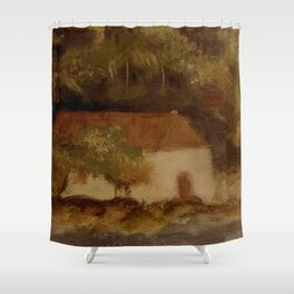 Cinnamon Bay 3 Shower Curtain