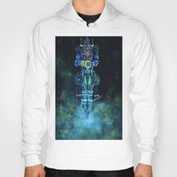 architect Hoodies featuring Architect 1  by HourglassAxis