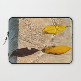 Flow with the river Laptop Sleeve