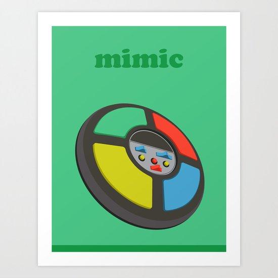The Mimic Art Print