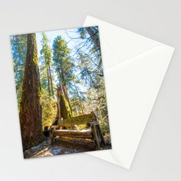 A peaceful place to think Stationery Cards