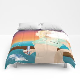 Cloudy Shores Comforters