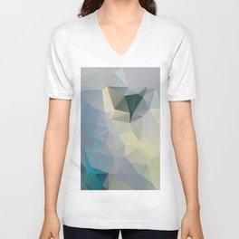 Mint / Poster, Art Prints, Deco, Scandinavian Images, Geometric, Pastel Poster, Mountains, Minimalis Unisex V-Neck