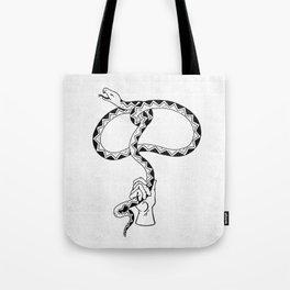Lassssso (B&W) Tote Bag