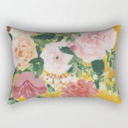 Sunshine Blooms Rectangular Pillow