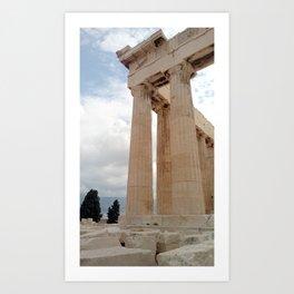 Acropolis/ history/ Athens/ Greece Art Print
