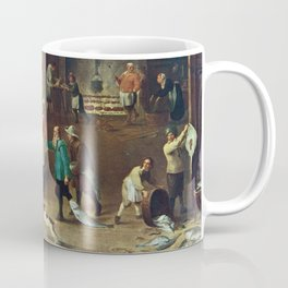 The Kitchen by David Teniers the Younger Coffee Mug