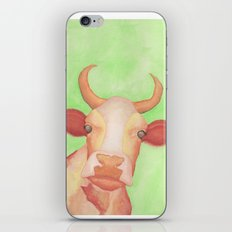 Curious Cow iPhone Skin