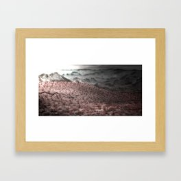 Our Death Valley Framed Art Print