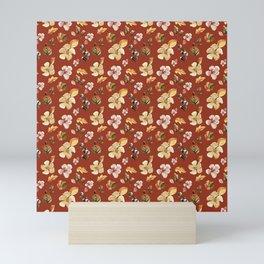 WATERCOLOR FLORAL Mini Art Print