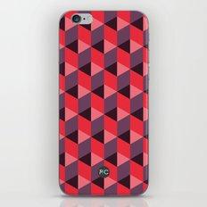 Queen of Hearts [isometrix 013] iPhone Skin