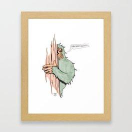 Bigfoote Framed Art Print