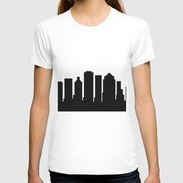 Boston skyline T-shirt