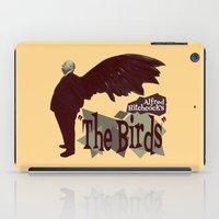 hitchcock iPad Cases featuring Alfred Hitchcock     The Birds by Silvio Ledbetter