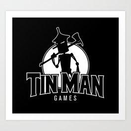 Tin Man Games logo Art Print