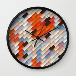 scales & shadows Wall Clock