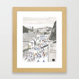 ross common Framed Art Print
