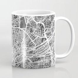 Frankfurt Germany City Map Coffee Mug