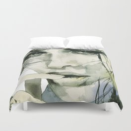 From the ground and the forests Duvet Cover