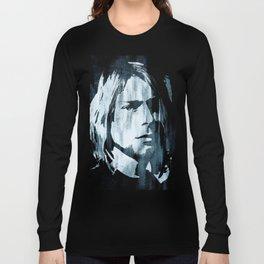 Kurt# Cobain#Nirvana Long Sleeve T-shirt