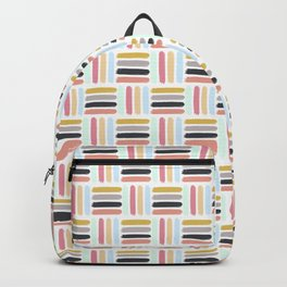 AFE Modern Basket Weave Backpack
