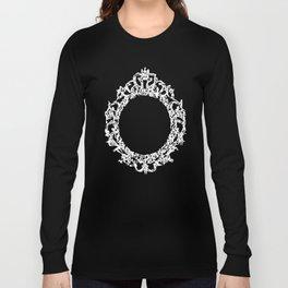 Kanji Calligraphy Art :a decorative mirror Long Sleeve T-shirt