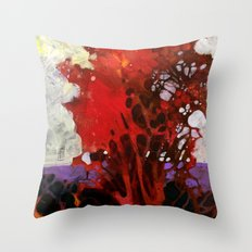 Old cypress tree Throw Pillow