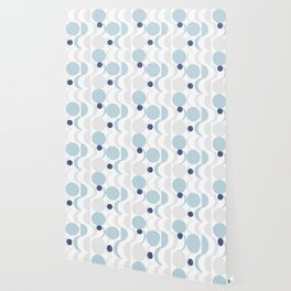 Blue Moon #society6 #decor Wallpaper