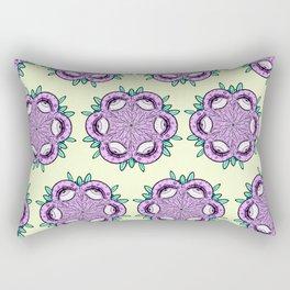 eye roll Rectangular Pillow