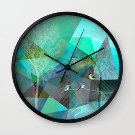 BIRDS P19 Wall Clock