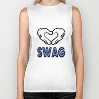swag Biker Tanks featuring SWAG by Gold Blood