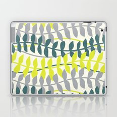seagrass pattern - teal and lime Laptop & iPad Skin