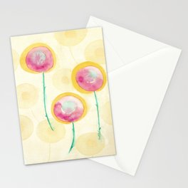 Fun Flora II Stationery Cards