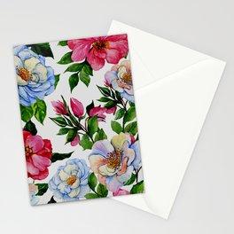 Vintage Floral Pattern No. 10 Stationery Cards