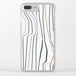 Stripes II Clear iPhone Case