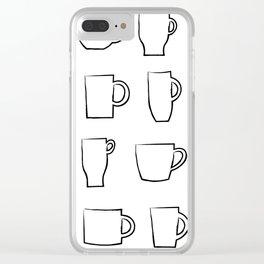 Mug Assortment Clear iPhone Case