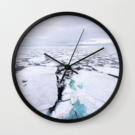 Sea Ice Wall Clock