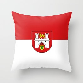 flag of Hanover or Hannover Throw Pillow